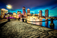 Twilight over Boston