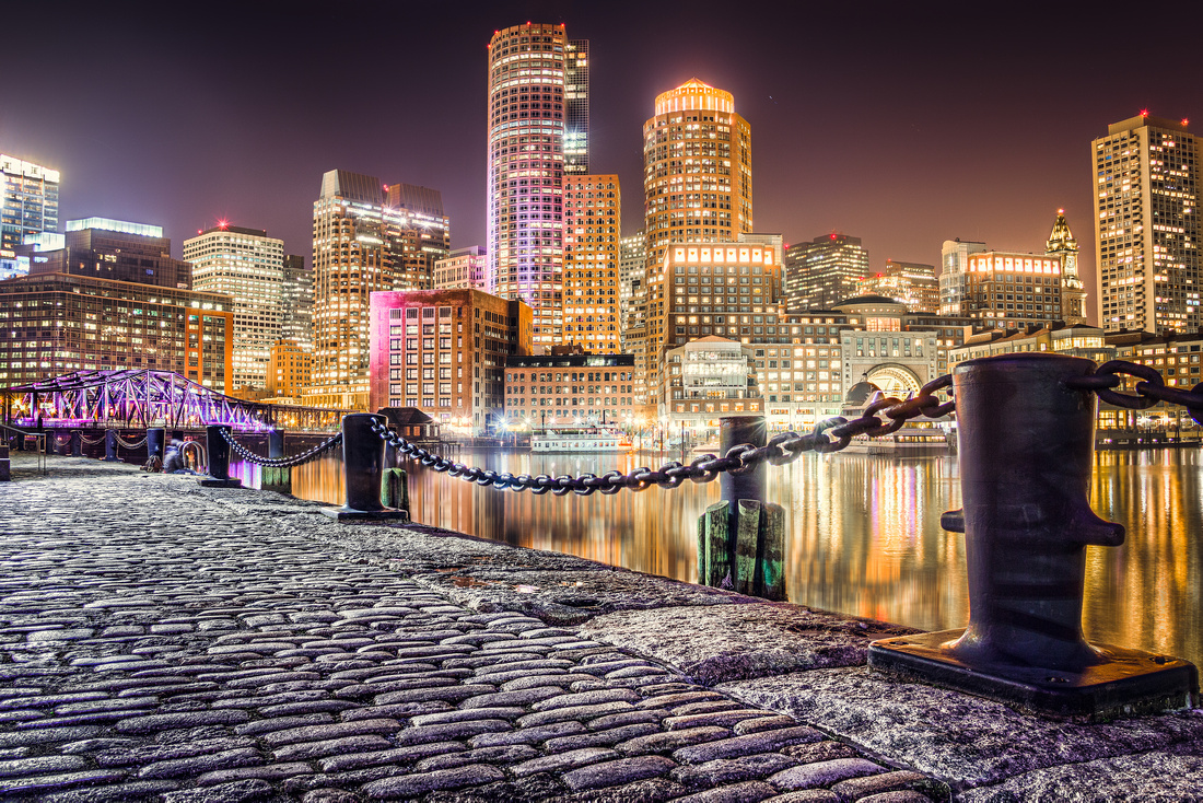Another Night by The Seaport