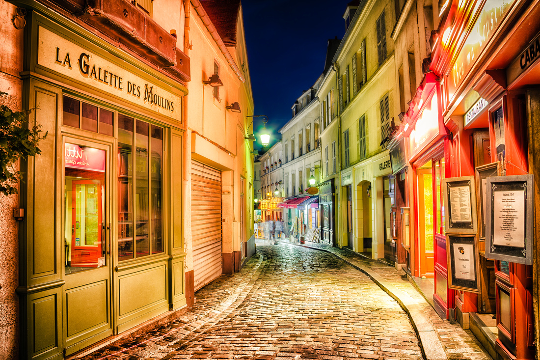 Twilight at Montmartre