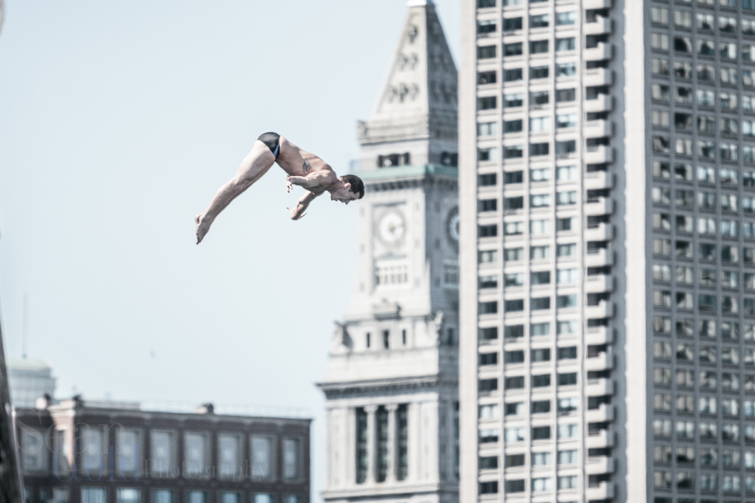 Red Bull Cliff Divers Boston 2013
